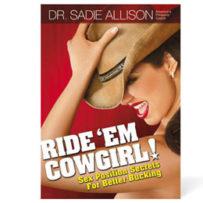 Ride'em Cowgirl By Dr. Sadie Allison